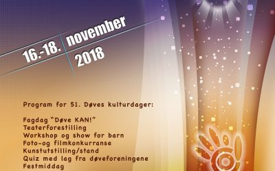 Døves kulturdager 2018 i Oslo