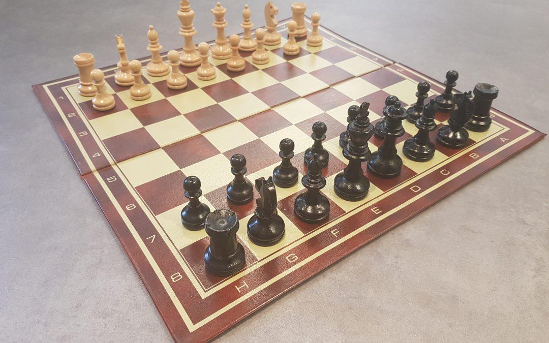 Sjakk-treff i Oslo Døveforening tirsdag 13. november kl. 17 – 20.