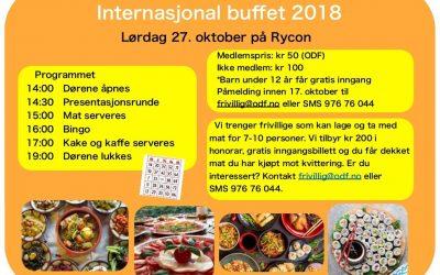 Internasjonal buffet 27. oktober