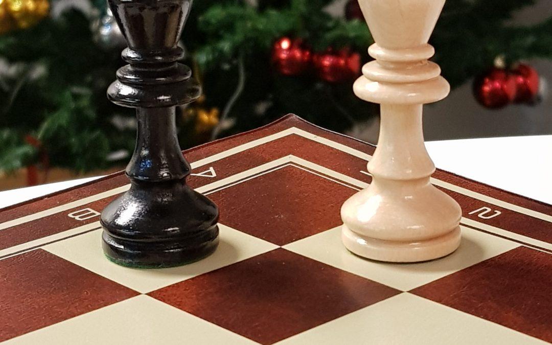 Julecup i sjakk tirsdag 11. desember kl. 17 – 20.