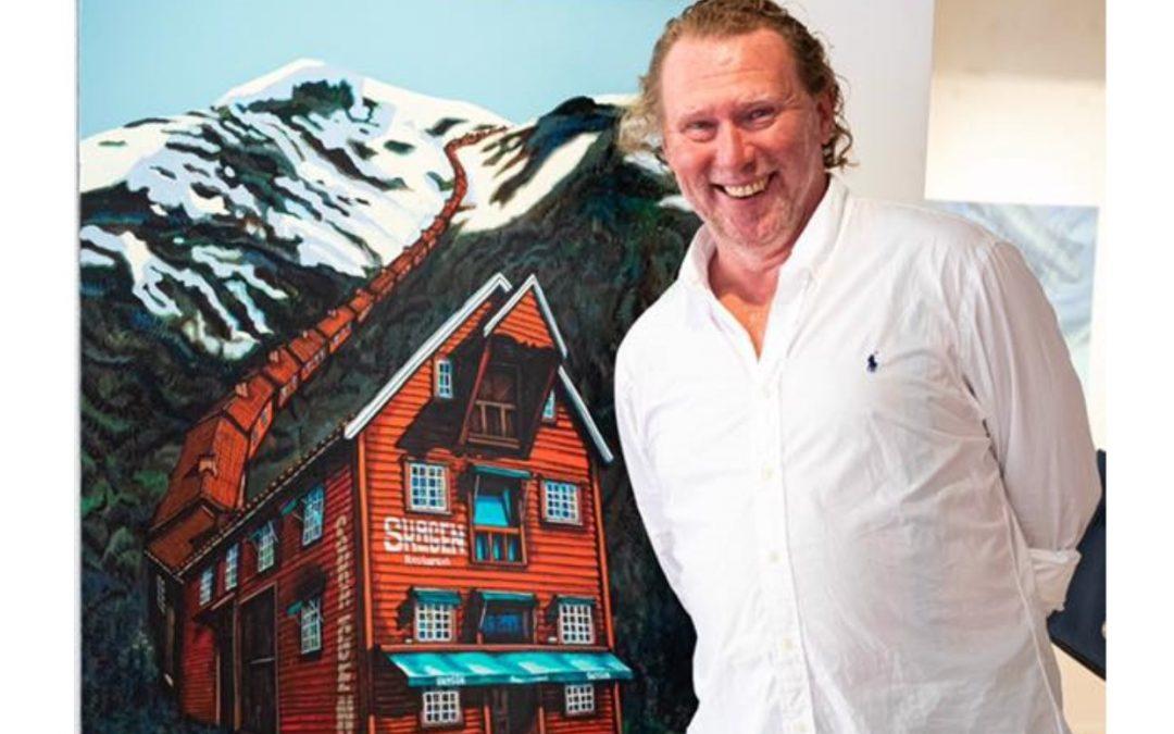 Kunstutstilling av Alexei Svetlov på Galleri Ramfjord