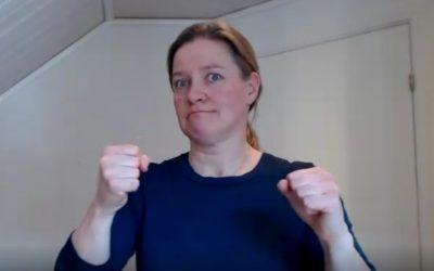 Vil du bidra i et prosjekt som skal dokumentere og beskrive norsk tegnspråk?