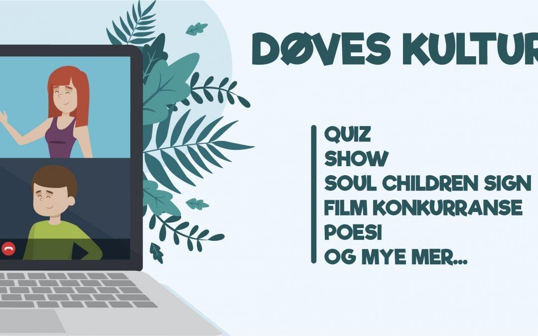 Digitalt Døves kulturdager lørdag 28. november kl. 14 – 17