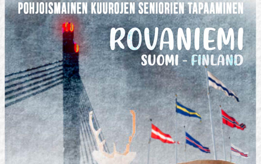Nordisk Seniortreff 2021 i Finland