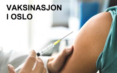 Informasjon om vaksine og tegnspråktolk